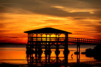 Sunset at Port St. Joe, Florida
