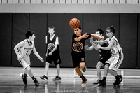 Mechanicsburg Travel Basketball vs Waynesboro; 2/26/17