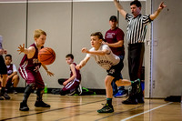 Mechanicsburg Travel Basketball; Fifth Grade; vs Ship; 2/19/17