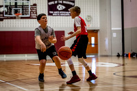 Mechanicsburg Travel Basketball; Fifth Grade: vs. Gettysburg; 2/19/17