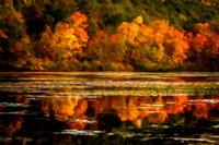 Pine Grove Furnace; Fall Colors at Laurel Lake